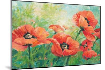 Red Poppies-Wendy Kroeker-Mounted Art Print