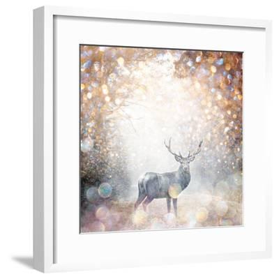 Mystical Forest 1-Beau Jakobs-Framed Art Print