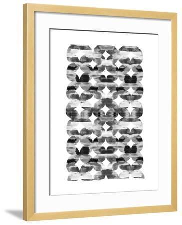 Global Influence 1 B&W-Bella Dos Santos-Framed Art Print