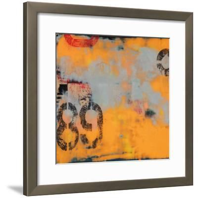 Urban Collage 89-Deanna Fainelli-Framed Art Print
