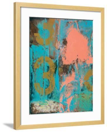 Urban Collage 33-Deanna Fainelli-Framed Art Print