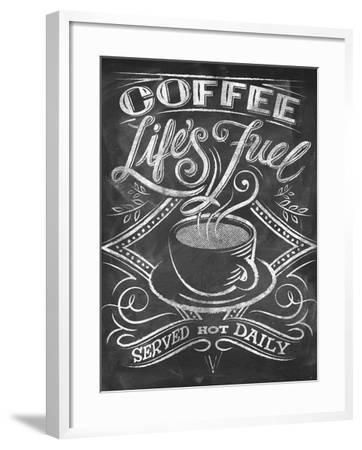 Wise Coffee 3-Dorothea Taylor-Framed Art Print