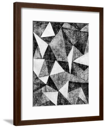 Natural Architecture 2 B&W-Edith Lentz-Framed Art Print
