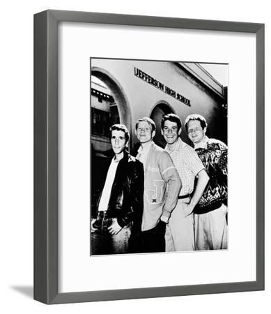 Happy Days--Framed Photo