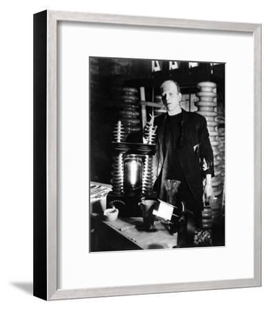 Frankenstein--Framed Photo