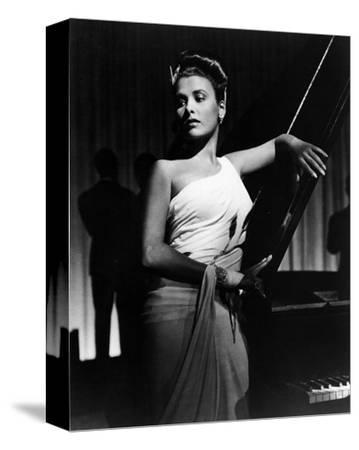 Lena Horne--Stretched Canvas Print