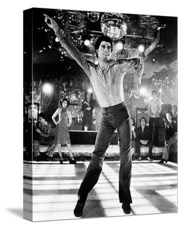 Saturday Night Fever--Stretched Canvas Print