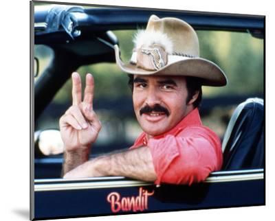 Smokey and the Bandit--Mounted Photo