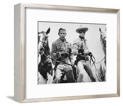The Lone Ranger--Framed Photo
