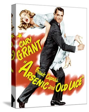 Arsenic and Old Lace--Stretched Canvas Print