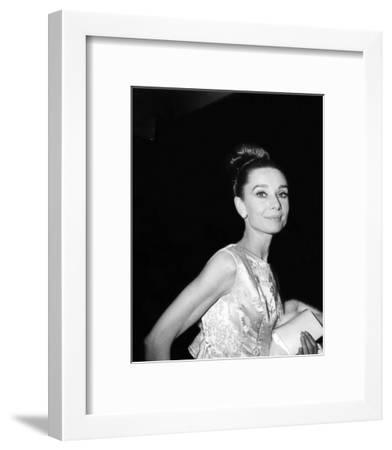 Audrey Hepburn--Framed Photo