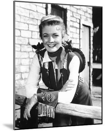 Annie Oakley--Mounted Photo