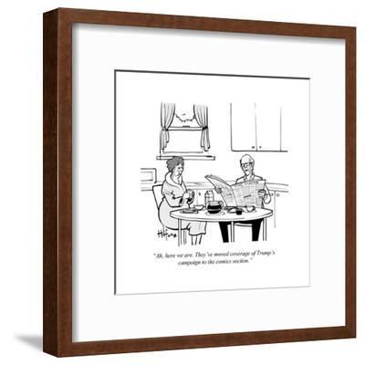 Cartoon-Kaamran Hafeez-Framed Premium Giclee Print
