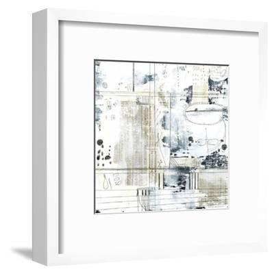 Neutral Abstract II-Sarah Ogren-Framed Art Print