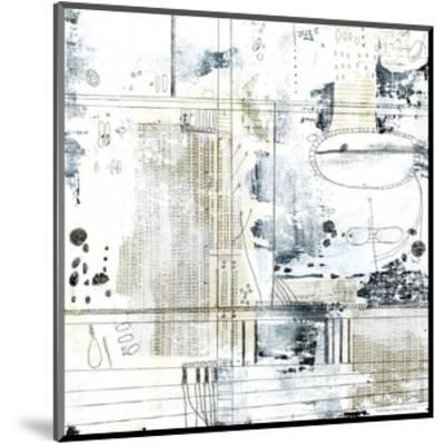 Neutral Abstract II-Sarah Ogren-Mounted Art Print