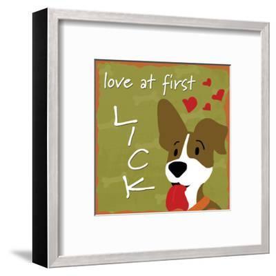 Love at First Lick-Anna Quach-Framed Art Print