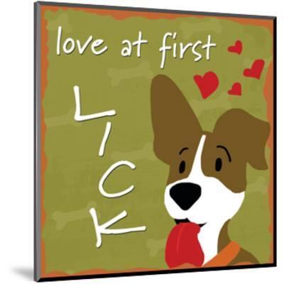 Love at First Lick-Anna Quach-Mounted Art Print