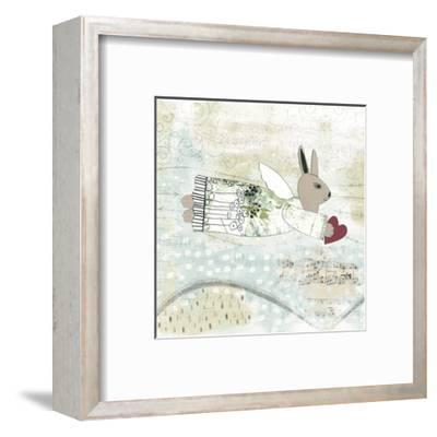 Bunny Angel-Sarah Ogren-Framed Art Print
