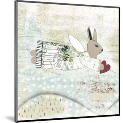 Bunny Angel-Sarah Ogren-Mounted Art Print