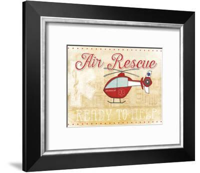 Air Rescue-Jennifer Pugh-Framed Art Print