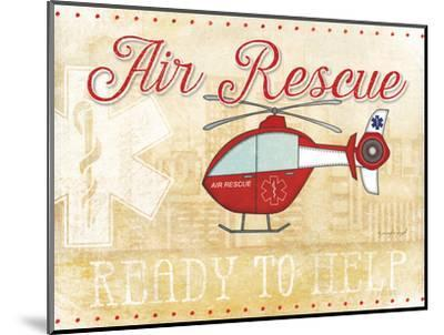 Air Rescue-Jennifer Pugh-Mounted Art Print