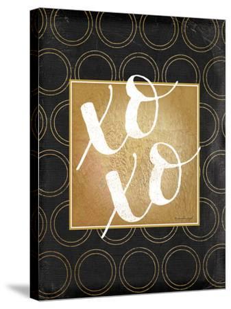XOXO-Jennifer Pugh-Stretched Canvas Print