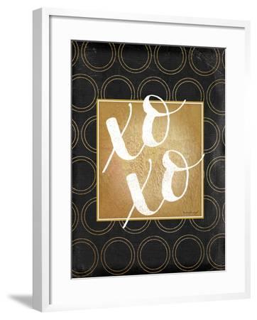 XOXO-Jennifer Pugh-Framed Art Print