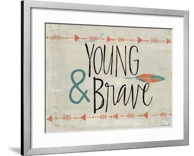 Young and Brave-Katie Doucette-Framed Art Print