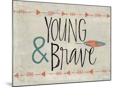 Young and Brave-Katie Doucette-Mounted Art Print