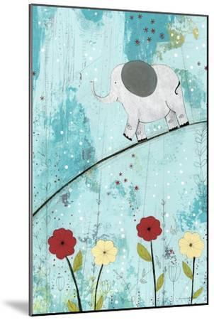 Baby Elephant Walk-Sarah Ogren-Mounted Art Print