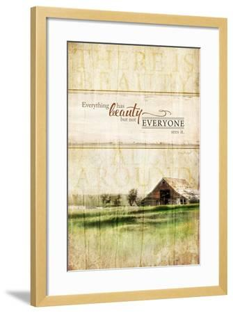 Everything Has Beauty-Jennifer Pugh-Framed Art Print