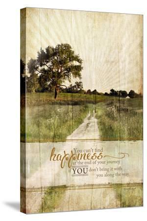 Bring Happiness-Jennifer Pugh-Stretched Canvas Print
