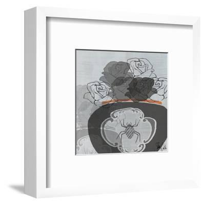 Black Roses I-Shanni Welsh-Framed Art Print