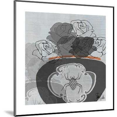 Black Roses I-Shanni Welsh-Mounted Art Print