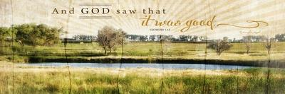 And God Saw That it Was Good-Jennifer Pugh-Stretched Canvas Print