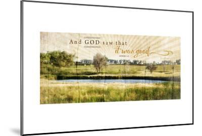 And God Saw That it Was Good-Jennifer Pugh-Mounted Art Print