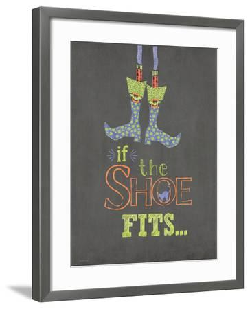 If the Shoe Fits-Jo Moulton-Framed Art Print