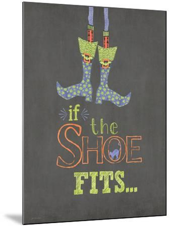 If the Shoe Fits-Jo Moulton-Mounted Art Print