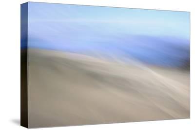 Moved Landscape 6047-Rica Belna-Stretched Canvas Print