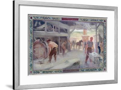 Use of the Sun: the Carriers, 1892- A.F. Gorguet &  E.de Bonnencontre-Framed Giclee Print