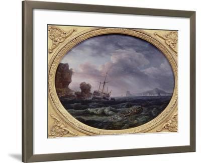 Shipwreck-Claude Joseph Vernet-Framed Giclee Print