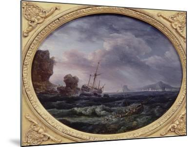 Shipwreck-Claude Joseph Vernet-Mounted Giclee Print