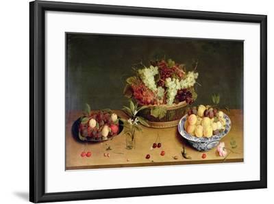 Fruit and Flowers-Isaac Soreau-Framed Giclee Print