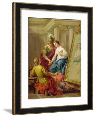 Apelles in Love with the Mistress of Alexander, 1772-Louis Jean Francois I Lagrenee-Framed Giclee Print