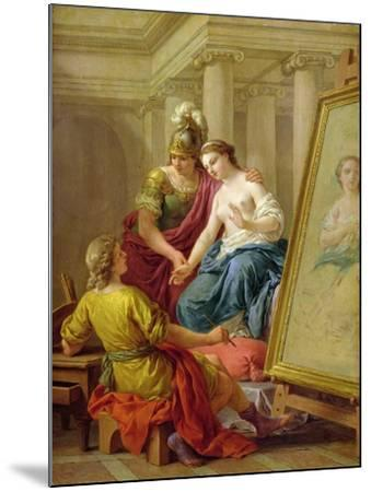 Apelles in Love with the Mistress of Alexander, 1772-Louis Jean Francois I Lagrenee-Mounted Giclee Print