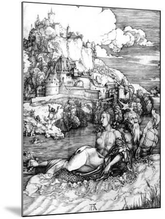 The Sea Monster, 1498-Albrecht D?rer-Mounted Giclee Print