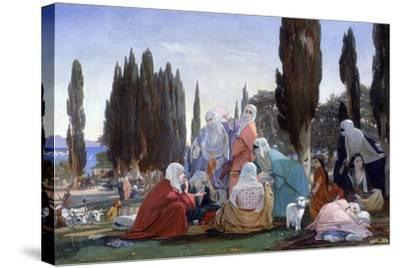 Souvenir of Scutari, 1857-Edward Armitage-Stretched Canvas Print