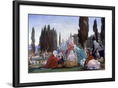 Souvenir of Scutari, 1857-Edward Armitage-Framed Giclee Print