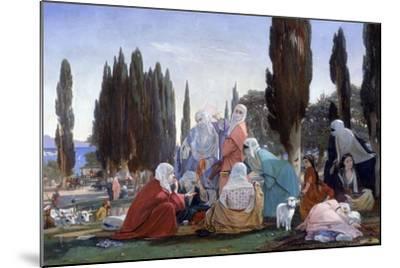 Souvenir of Scutari, 1857-Edward Armitage-Mounted Giclee Print
