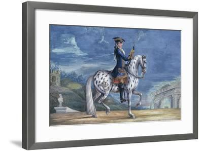 No. 11 an Appaloosa Horse of the Spanish Riding School, from the Imperial Stud in Bohemia-Baron Reis d' Eisenberg-Framed Giclee Print
